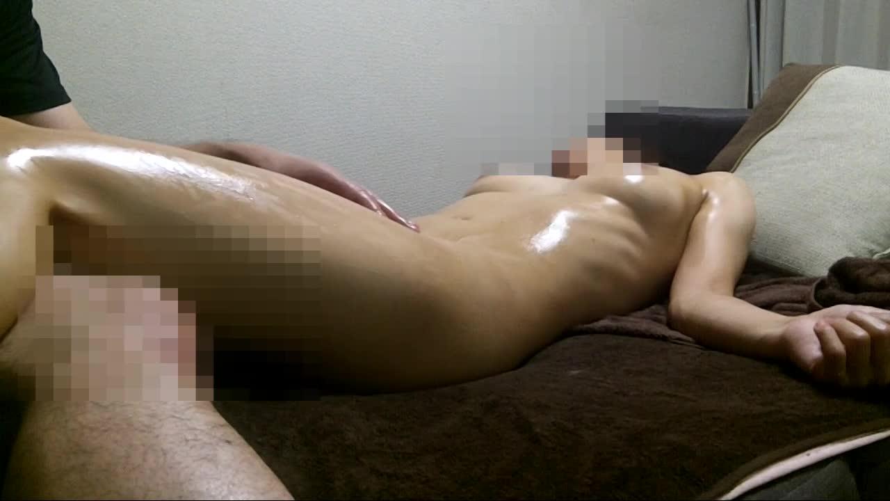 オイルマミレのお姉さんがポルチオを刺激され何度も何度もイキまくり動画。